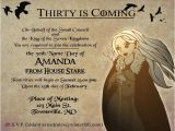 Game Of Thrones Birthday Invitation Template Game Of Thrones Party