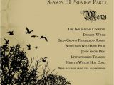 Game Of Thrones Birthday Invitation Throw An Epic Game Of Thrones Watch Party 70 Great Ideas