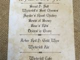 Game Of Thrones Dinner Party Invitation Game Of Thrones Party Menu Game Of Thrones Party