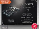 Game Of Thrones Party Invitation Template Hey I Found This Really Awesome Etsy Listing at S