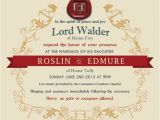 Game Of Thrones Wedding Invitations 39 Game Of Thrones 39 Red Wedding Invitation Ew Com