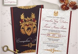 Game Of Thrones Wedding Invitations House Targaryen Wedding Invitation Game Of Thrones