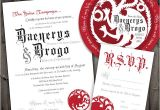 Game Of Thrones Wedding Invitations Not Surprised Game Of Thrones Wedding Invitations