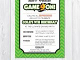 Game On Party Invitations 126 Best Images About Video Game Party Ideas Game Truck