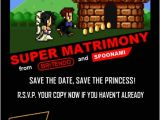 Gaming Wedding Invitations 11 Great Video Game Wedding Invitations Kotaku Australia