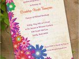 Garden Party Bridal Shower Invitation Wording Floral Bridal Shower Invitation Garden Party by Ceceliajane
