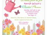 Garden Party Bridal Shower Invitation Wording Garden Party Bridal Shower Invitation