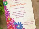 Garden Party Bridal Shower Invitations Floral Bridal Shower Invitation Garden Party by Ceceliajane