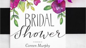 Garden Party Bridal Shower Invitations Garden Party Bridal Shower — Kristi Murphy