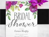 Garden Party themed Bridal Shower Invitations Garden Party Bridal Shower Kristi Murphy Diy Blog