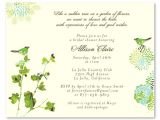 Garden Party themed Bridal Shower Invitations Garden theme Bridal Shower Invitations Nature 39 S Glory by