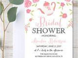 Garden Tea Party Bridal Shower Invitations Editable Bridal Shower Invitation Garden Tea Party Pdf