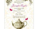 Garden Tea Party Bridal Shower Invitations Garden Tea Party Diy Printable Wedding or Bridal Shower