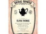 Garden Tea Party Bridal Shower Invitations Vintage Bridal Shower Tea Party Invitations 5 Quot X 7