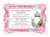 Garden Tea Party Invitation Ideas French Garden Tea Party 5×7 Paper Invitation Card Zazzle