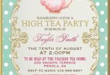 Garden Tea Party Invitation Wording Tea Party Invitation High Tea Bridal Shower Tea Digital