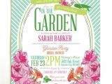 Garden themed Bridal Shower Invitations Best 25 Garden Party Invitations Ideas On Pinterest