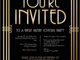 Gatsby Christmas Party Invitations Best 25 Cocktail Party Invitation Ideas On Pinterest