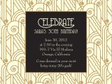 Gatsby themed Party Invitations Great Gatsby Party Invitations Ideas Printable