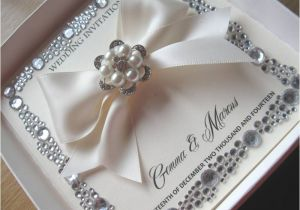 Gems Wedding Invitations Luxury Pearl Gem Wedding Invitation Gem Border Detail