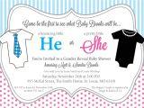 Gender Neutral Baby Shower Invitation Wording Ideas Template Gender Neutral Baby Shower Invitations