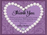 Generic Bridal Shower Invitations Generic Bridal Shower Thank You Card Wording