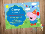 George Pig Birthday Party Invitations Best 25 George Pig Party Ideas On Pinterest