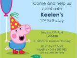 George Pig Birthday Party Invitations Birthday Party Invitations Boys Invite Peppa George Pig