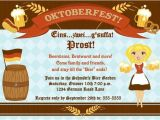 German Party Invitation Reserved for Mcneil Personalized German Oktoberfest Invitation