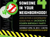 Ghostbusters Birthday Invitations Best Ghostbusters Birthday Invitations Templates