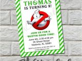 Ghostbusters Birthday Invitations Ghostbusters Birthday Party Invitation Printable Diy by