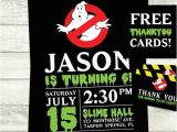 Ghostbusters Birthday Invitations Ghostbusters Birthday Party Invitations with by