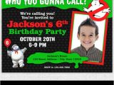 Ghostbusters Birthday Invitations Ghostbusters Invitation Printable Ghostbusters Birthday