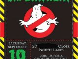 Ghostbusters Birthday Party Invitations 17 Best Ideas About Ghostbusters Party On Pinterest