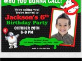 Ghostbusters Birthday Party Invitations Ghostbusters Invitation Printable Ghostbusters Birthday