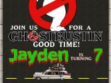 Ghostbusters Party Invitations Ghostbusters Birthday Party Invitation