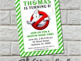 Ghostbusters Party Invitations Template Unavailable Listing On Etsy