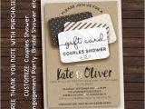 Gift Card Bridal Shower Invitations Gift Card Shower Invitation