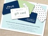 Gift Card Party Invitations Gift Card Bridal Shower Invitation Wording Bridal Shower