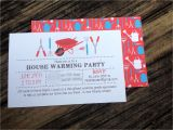 Gift Card Party Invitations House Warming Party Invitations