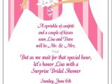 Gift Card Party Invitations Wedding Invitation Templates and Wording