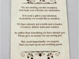 Gifts Using Wedding Invitation Wedding Gift Poems for Cash Midway Media