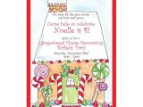 Gingerbread House Christmas Party Invitations Gingerbread House Holiday Invitations Paperstyle