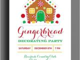 Gingerbread House Decorating Party Invitation Wording 20 Gingerbread House Decorating Party Invitations