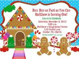 Gingerbread Man Birthday Party Invitations 7 Best Gingerbread Party Images On Pinterest Christmas