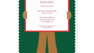 Gingerbread Man Birthday Party Invitations Cute Gingerbread Man Holiday Party Invitation 13 Cm X 18