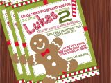 Gingerbread Man Birthday Party Invitations Gingerbread Man Invitation Mimi 39 S Dollhouse