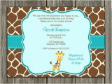Giraffe Baby Shower Invitations Template Free Printable Chevron Baby Shower Invitations Oxyline