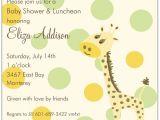 Giraffe Baby Shower Invites Giraffe Square Boy Baby Shower Invitations