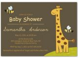 Giraffe themed Baby Shower Invitations Giraffe Baby Shower Ideas Inspiration Board